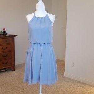 Lilac - Periwinkle Dress